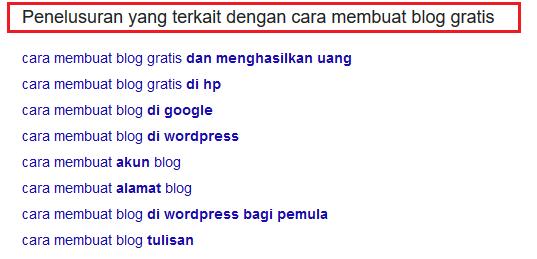 penelusuran terkait google autocomplete